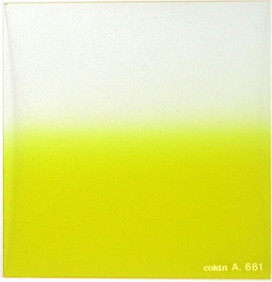 A661 Graduated Fluorescent Yellow 2 Resin Filter - OPEN BOX