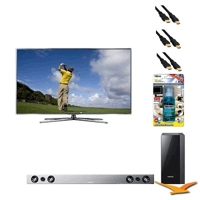 UN55D7900 55 inch 1080p 240hz 3D LED HDTV with HW-D551 - Home Theater Bundle