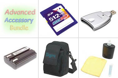 Bargain Accessory Kit for Coolpix 4800