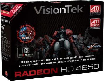 RADEON 4650 PCIE 1GB DDR2 DVI DMS59 SFF B2 RETAIL