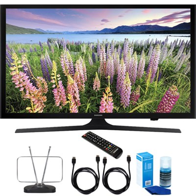 UN43J5200 43` Full HD 1080p Smart LED HDTV with Cord & Clean-Up Bundle