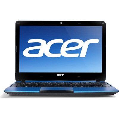 Aspire One AO722-0652 11.6` Netbook PC (Blue) - AMD Dual-Core C-60 Accel. Proc.