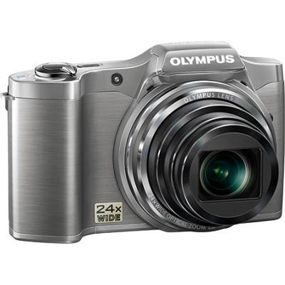 SZ-12 14MP 3.0 LCD 24x Opt Zoom Digital Camera - Silver