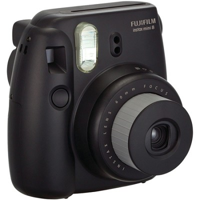 Instax 8 Color Instax Mini 8 Instant Camera - Black