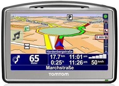 GO 720 Portable GPS Navigation System With 4.3` Touchscreen - REFURBISHED