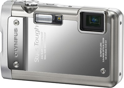 Stylus Tough 8010 Waterproof Shockproof Freezeproof Camera (Silver) - OPEN BOX