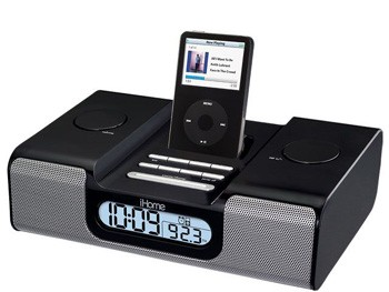 iHome IH5 Clock Radio System for your iPod [black]