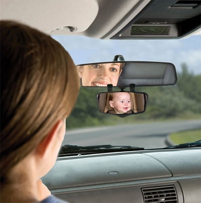 Flip Down Child View Mirror