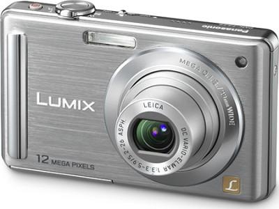 DMC-FS25S 12.1 MP Digital Camera w/ 3.0` Intelligent LCD (Silver) - OPEN BOX