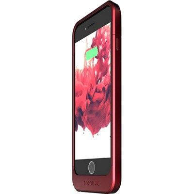 Elite Battery Case for iPhone 6 and 6s, Red - OPEN BOX