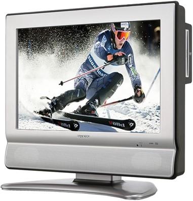 LC-20DV20U 20` High-definition LCD Flat-Panel TV w/ Built-in DVD Player