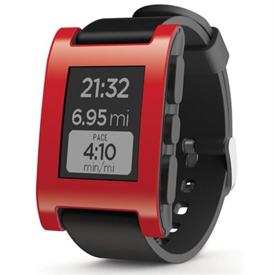 Smart Watch for iPhone and Android Devices (Red) 301BL