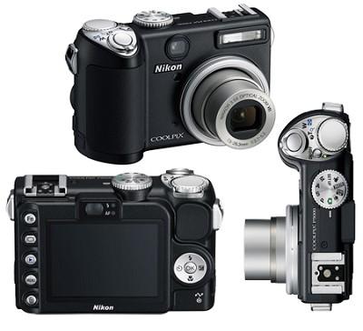 Coolpix P5000 Digital Camera (Black)