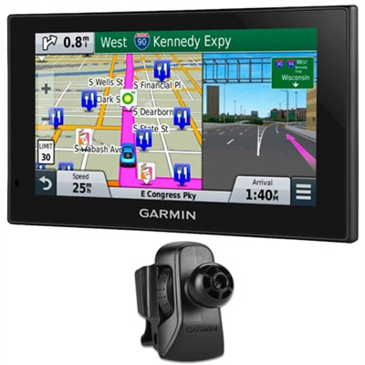 nuvi 2699LMT HD 6` GPS with Lifetime Maps & HD Traffic Air Vent Mount Bundle