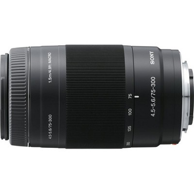 SAL75300 - 75-300mm f/4.5-5.6 Compact Super Telephoto Zoom Lens OPEN BOX