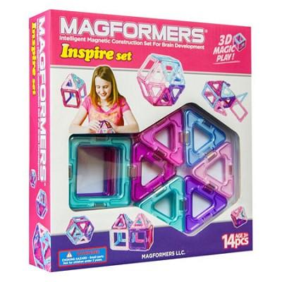 63096 Inspire 14pc Magnetic Construction Set