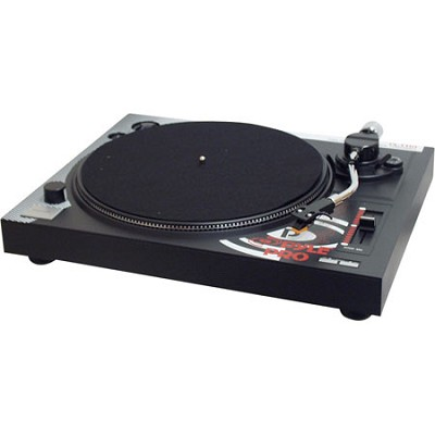 Professional Belt-Drive Manual Turntable