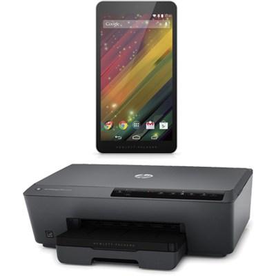 7 G2-1311 (J4Y28AA#ABA) 7-Inch 8 GB Tablet w/Officejet Pro 6230 Wireless Printer