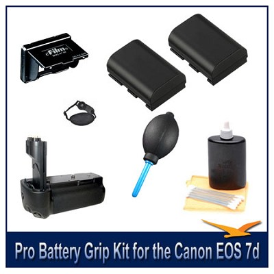 Fully Loaded Pro Battery Grip Kit for the Canon EOS 7d