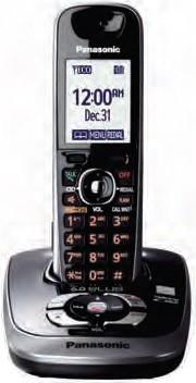 KX-TG7531B DECT 6.0 Plus Expandable Digital Cordless Answering System