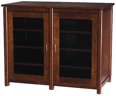 WFAV44 - Woodbrook Double Wide Five 5 A/V Cabinet, TVs upto 47` (Mocha Finish)