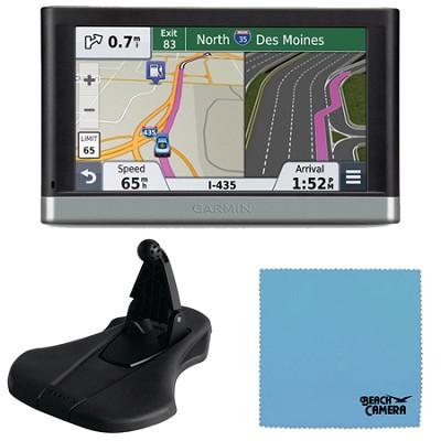 nuvi 2597LMT 5` Bluetooth GPS Navigation w/Lifetime Map Traffic Mount Bundle