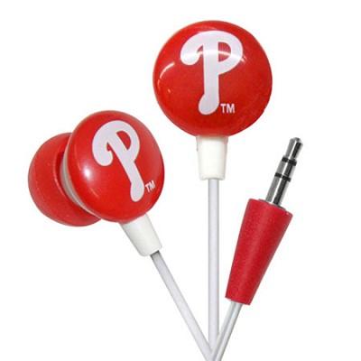 Major League Baseball Officially Licensed Earphones - Philadelphia Phillies
