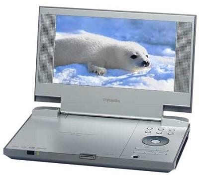 SD-P1850 - Portable DVD Player w/ 8` Widescreen LCD