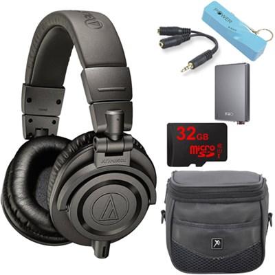 ATH-M50xMG Limited Edition Professional Studio Monitor Headphones E12 Amp Bundle