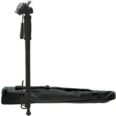 M71 - 71` Professional Monopod with Pan Head, Foot-Stand, Quick Release & Case