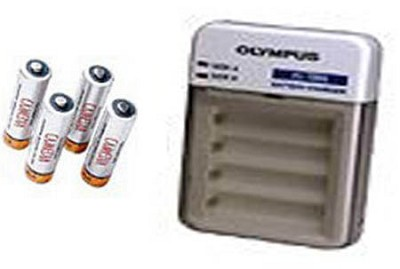 B-30SU NiMH Battery Set (AA-4 Pack with charger)