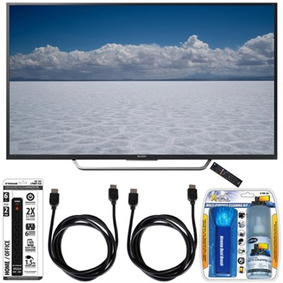 XBR-55X700D - 55` Class 4K Ultra HD TV with Essential Accessory Bundle
