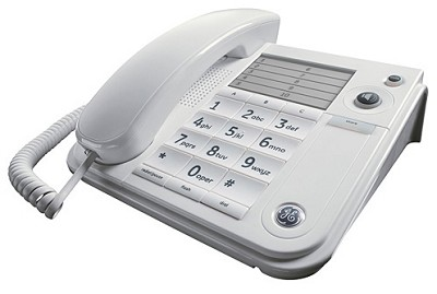 Corded Desktop Speakerphone - White