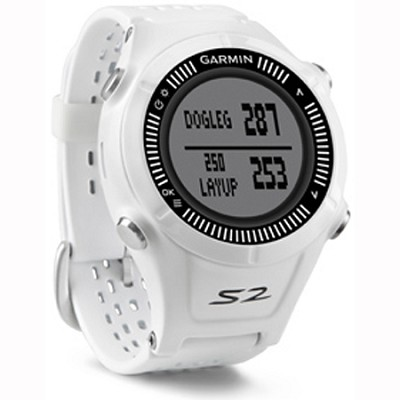 Approach S2 GPS Golf Watch (White/Gray)