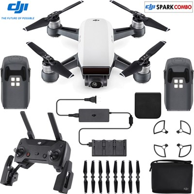 SPARK Fly More Drone Combo Alpine White - CP.PT.000899