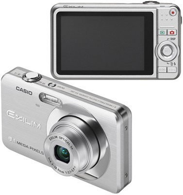 Exilim EX-Z80 8.1MP Digital Camera with 2.6` LCD (Silver)