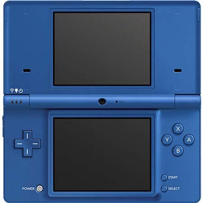 DSi Portable Gaming Console - Matte Royal Blue - OPEN BOX