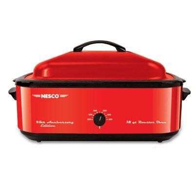 Roaster Oven 18qt 95th Anv Red