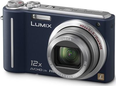 DMC-ZS3A LUMIX 10.1 MP Compact Digital Camera w/ 12x SuperZoom(Blue)*Refurbished