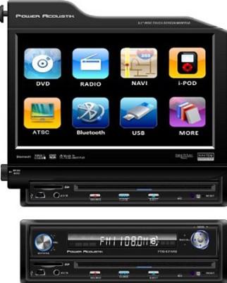 Single-DIN 8.3-Inch Flip-Up Nav-Ready TFT-LCD Touchscreen A/V Source Unit
