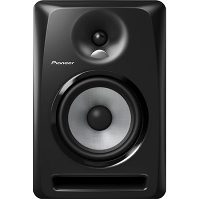 Black Pioneer S-DJ60X 6` Active DJ Speaker Reference Monitor