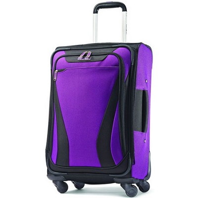 Aspire Gr8 21 Exp. Spinner Suitcase - Purple
