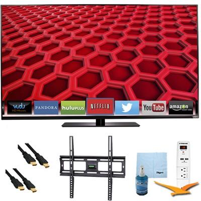 E550i-B2 - 55` LED Smart HDTV 1080p Full HD 120Hz Plus Mount & Hook-Up Bundle
