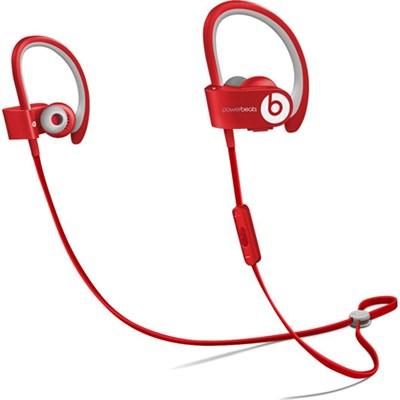 Powerbeats 2 Wireless Bluetooth In-Ear Headphones -  Red - OPEN BOX