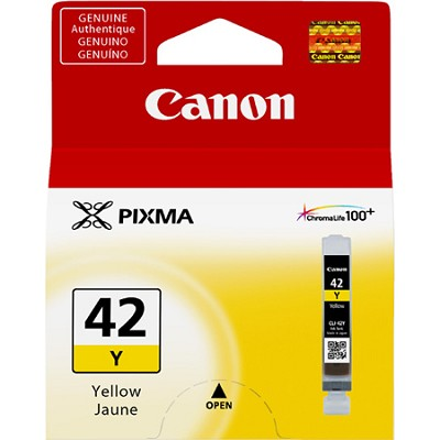 CLI-42 Yellow ChromaLife 100+ Individual Ink Catridge for PIXMA PRO 100 Printer
