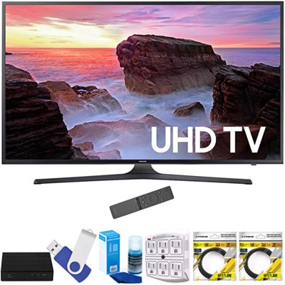 74.5-Inch 4K Ultra HD Smart LED TV 2017 Model with Terk Tuner Bundle