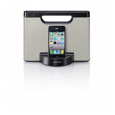 RDP-M5iPSIL Speaker dock for iPod and iPhone (Silver)
