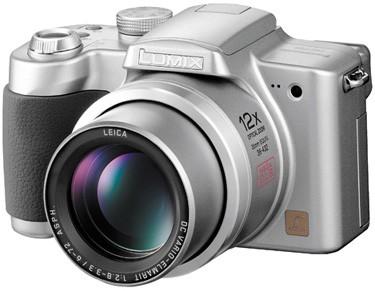 Lumix DMC-FZ5S Digital Camera (Silver) - Open Box