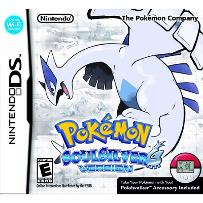 DSi Pokemon SoulSilver Version