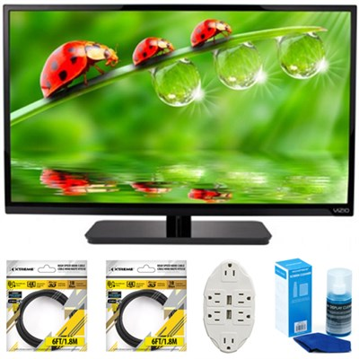 E-Series 32` Class LED HDTV 2017 Model E320-B0E with Cleaning Bundle